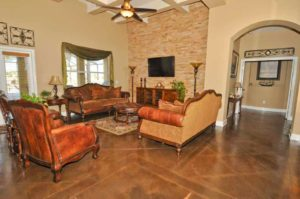 stained concrete application orange county