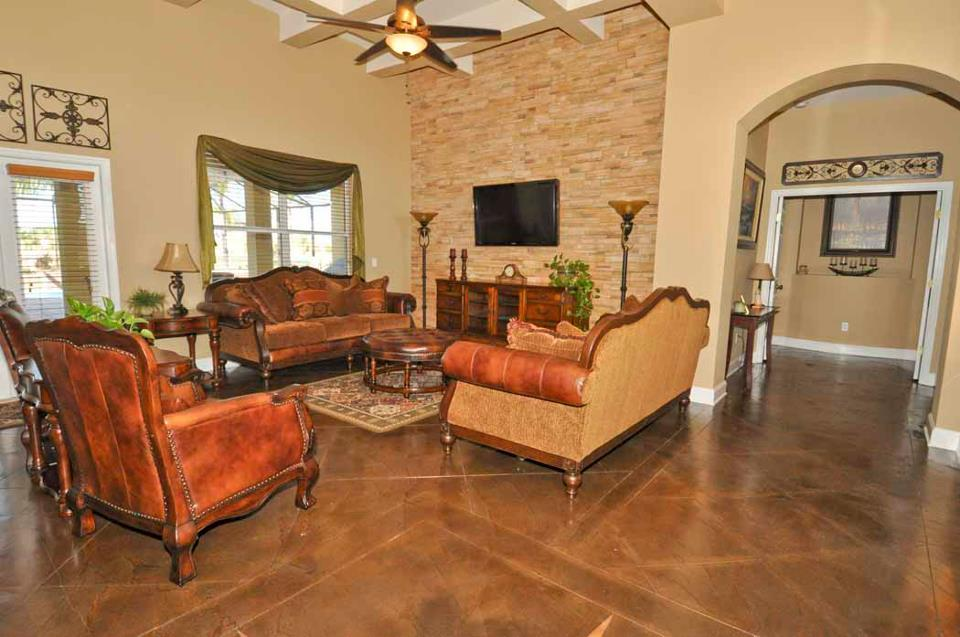 stained concrete interior floors orange county