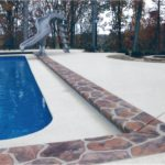 residential concrete pool deck orange county