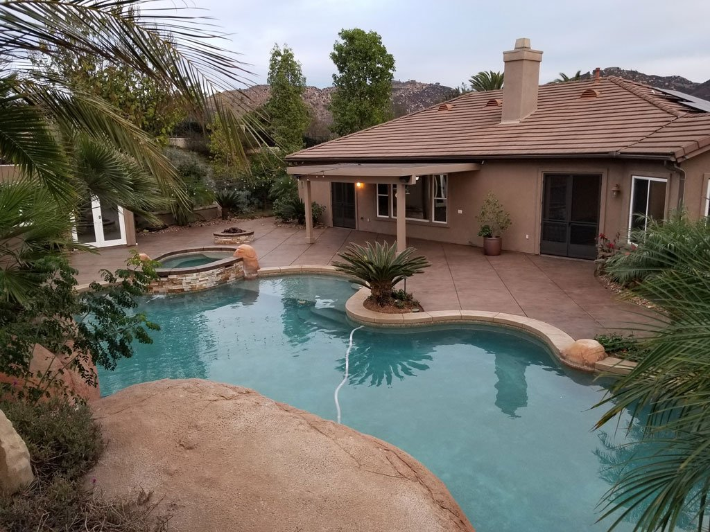 Orange County Decorative Concrete Contractor