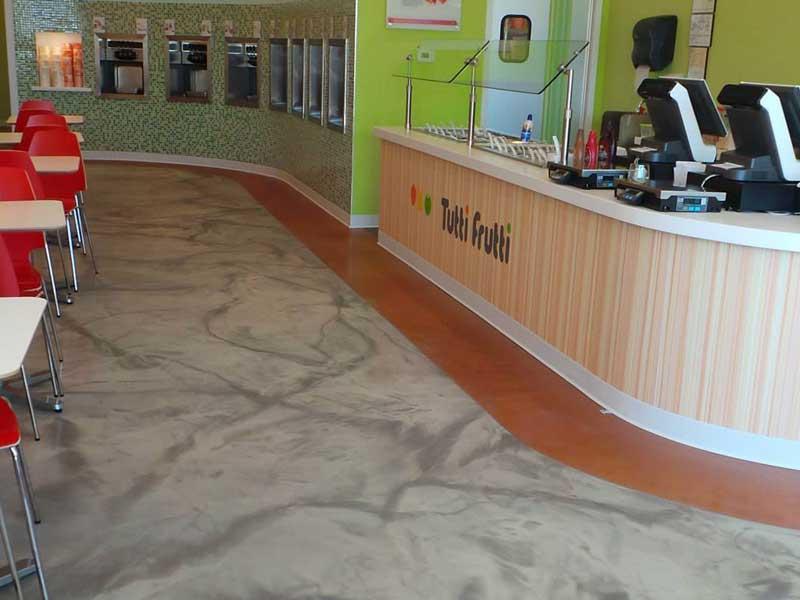 stamped-concrete-floor-of-hotel-restaurant
