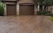 stamped-and-stained-concrete-driveway